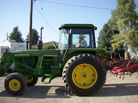 Winters World I Can Take You For A Ride On My Big Green Tractor