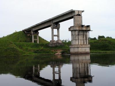 Мост из прошлого через Тверцу