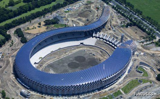 Primeiro estádio com energia solar