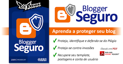 Lançamento do e-book Blogger Seguro