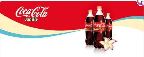 Sabores de Coca-Cola exclusivos da França