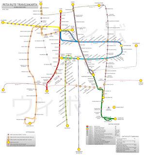 Rute Busway, Angkutan Kota, dan KRL Jakarta!