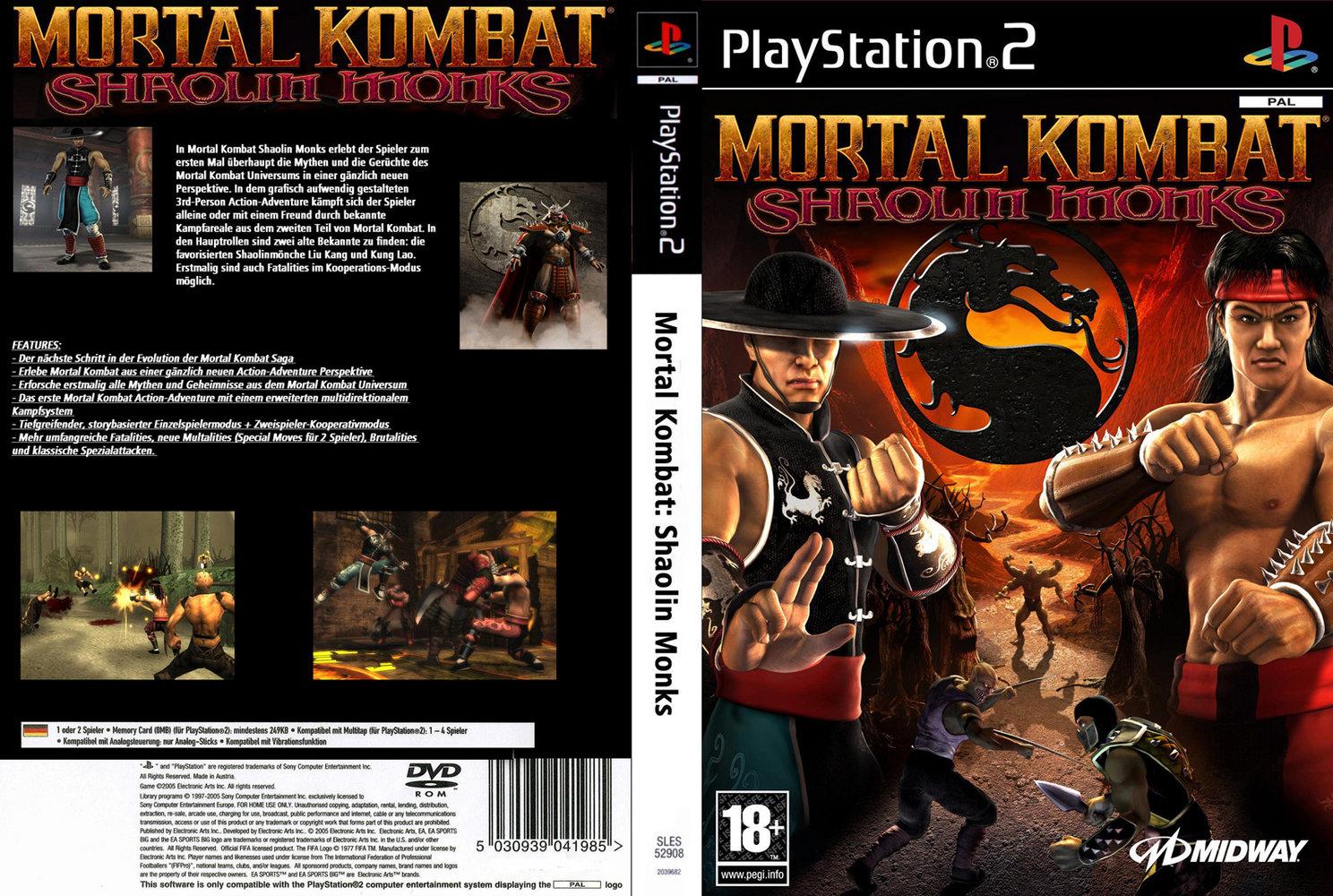 Konu: Mortal Kombat Shaolin Monks - PS2