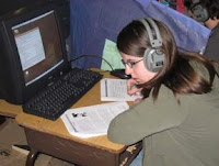 Student learning while listening to music