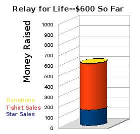Relay for Life Graph