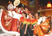 Opitas y bailarines de Barranquilla