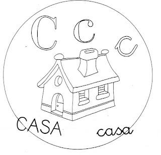 Abecedario Para Colorear Letra C Actividades Para Niños
