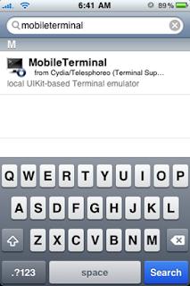 MobileTerminal1 - Tutoriel : comment Installer un fichier .deb ?