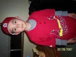 Croix's baseball uniform