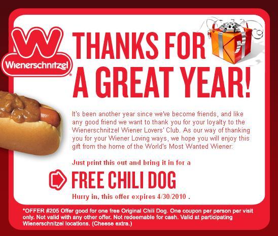 fast food coupons  april