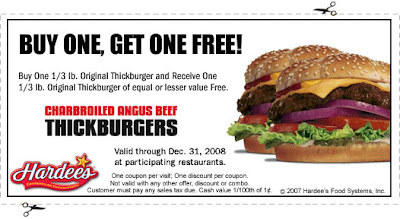 photo relating to Bristol Renaissance Faire Bogo Printable Coupon named Hardees Purchase Just one Receive One particular Absolutely free-Angus Burger Freebies
