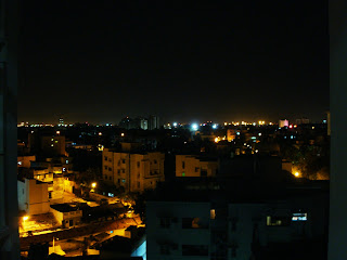 madras, chennai, by night