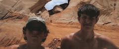 Tyler & Simon at Lake Powell