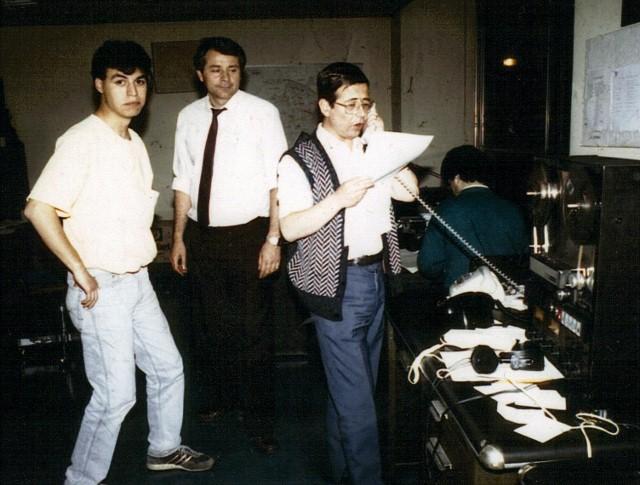 sala de grabación prensa