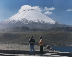 Minenria Arica , Lago Chungara