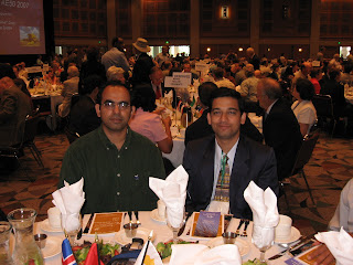 In the Luncheon at the Conference