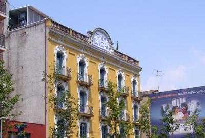 hotel fonda europa: