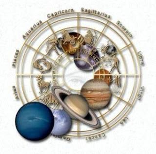 Os astros e o zodíaco