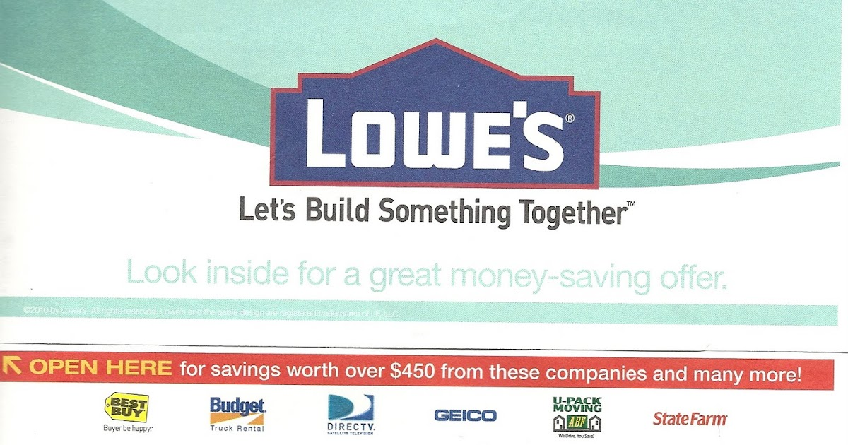 Learn How To Get Latestlowes Moving Coupon At Post Office Lowes Printable Coupons Code