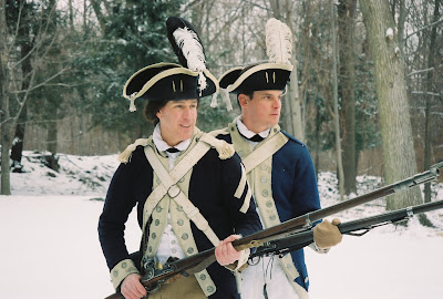 Continental Army Encampment for Washingtons Birthday