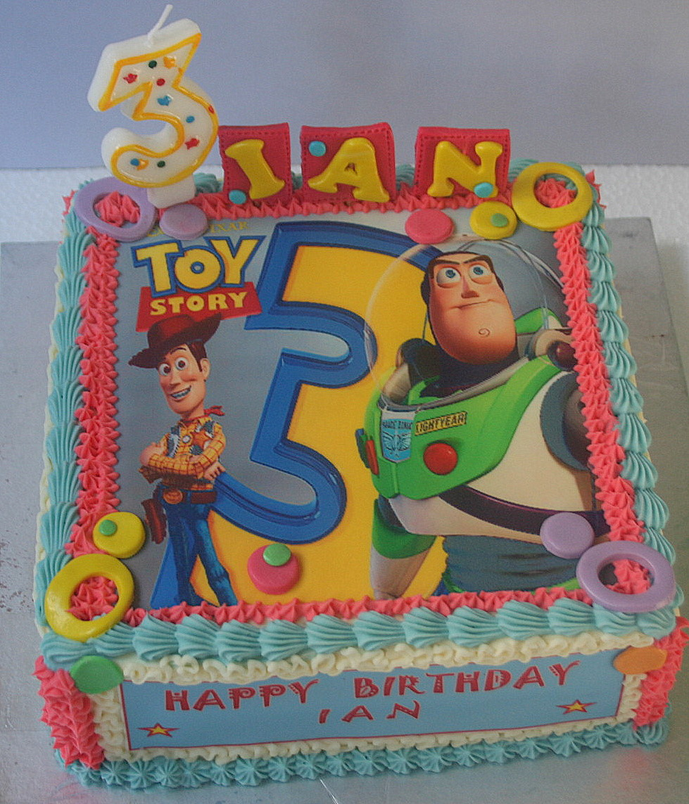 Butterfly Cake Toy Story Theme For Ian