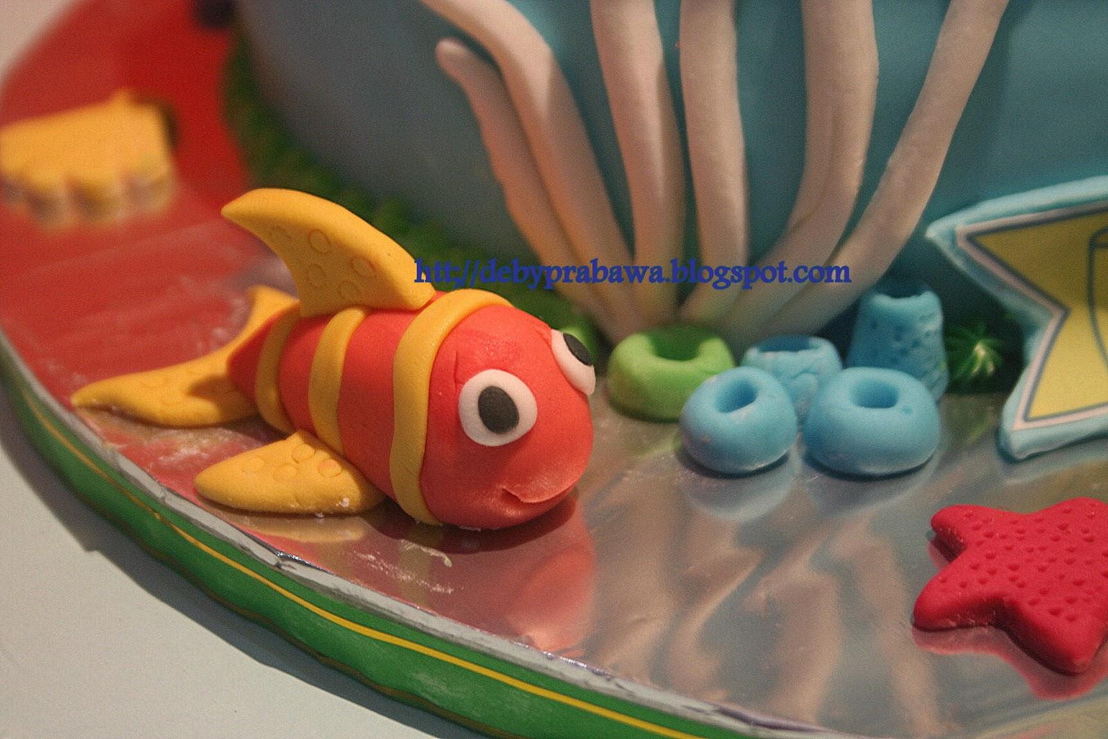 Butterfly Cake Mermaid Cake