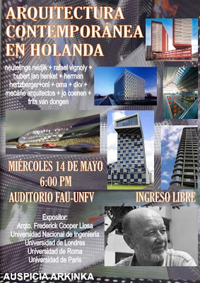 Arquitectura comtemporanea holandesa conferencia for Arquitectura holandesa