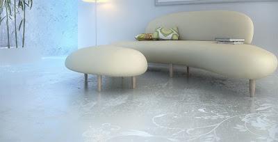 Suelos y paredes de cemento pulido - Suelo de microcemento pulido ...