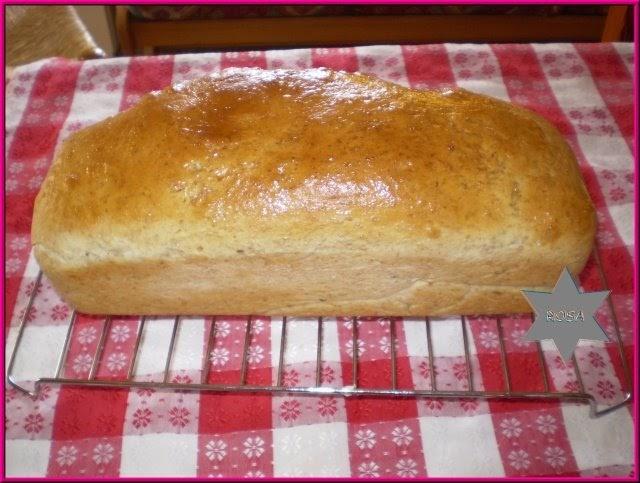 Mis cosillas de cocina y thermomix pan de molde semi integral for Cocina semi integral