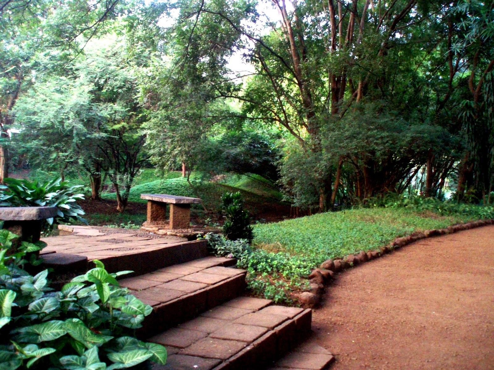 Travelz Unlimited Osho Teerth Park Pune A Photo Feature