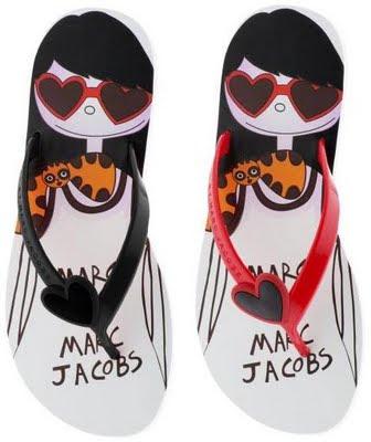 Marc Jacobs Flip Flops