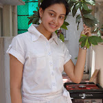 Abhinaya in White Shirt & Jeans  Cute Pictures