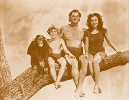 Chita, Boy, Tarzan & Jane