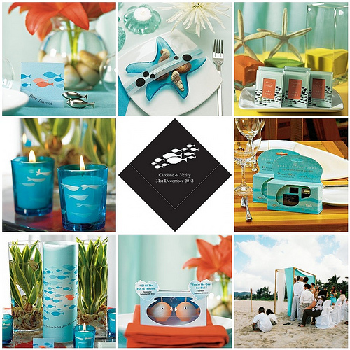 Fishing Wedding Ideas: Your Wedding Support: GET THE LOOK