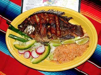 Cocina Mexicana Mojarra Frita