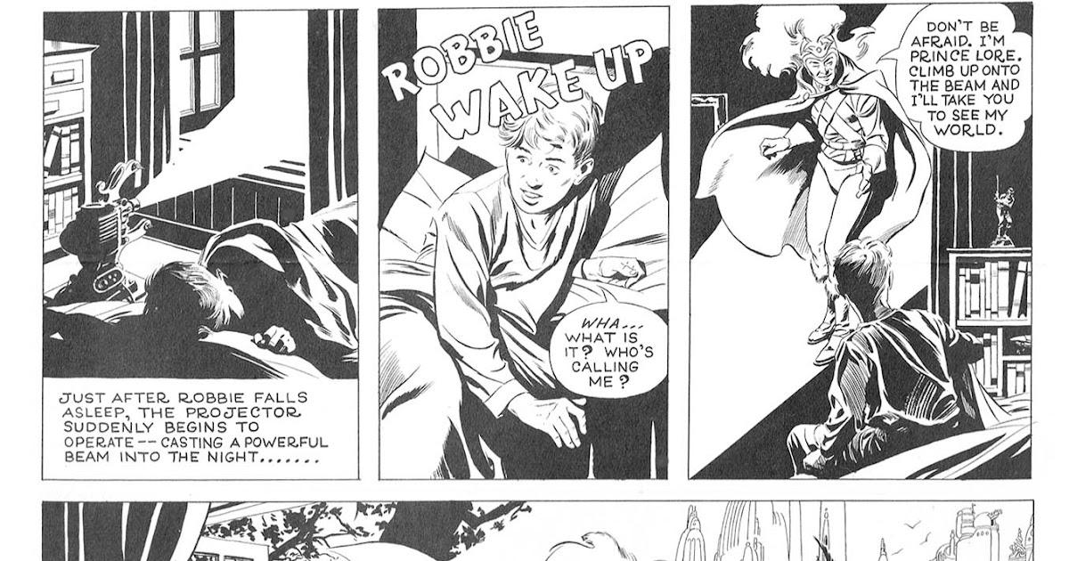 Atomic Kommie Comics: Reading Room: ROBBIE