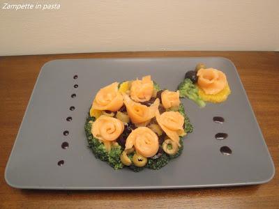 Salmone con arancia - Secondo piatto di pesce con arancia