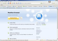 Maxthon site in Maxthon browser.. by Vish..!