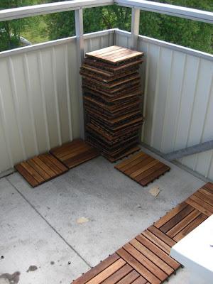 Helt nya Vad för golv på balkongen? HJ-01