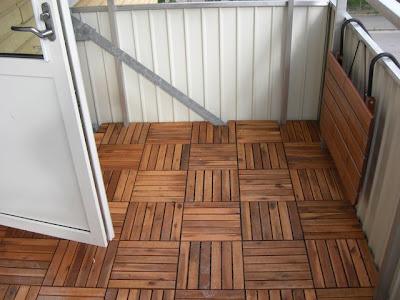 Populära Vad för golv på balkongen? JX-54