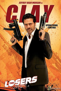 Jeffrey Dean Morgan es Clay - The Losers
