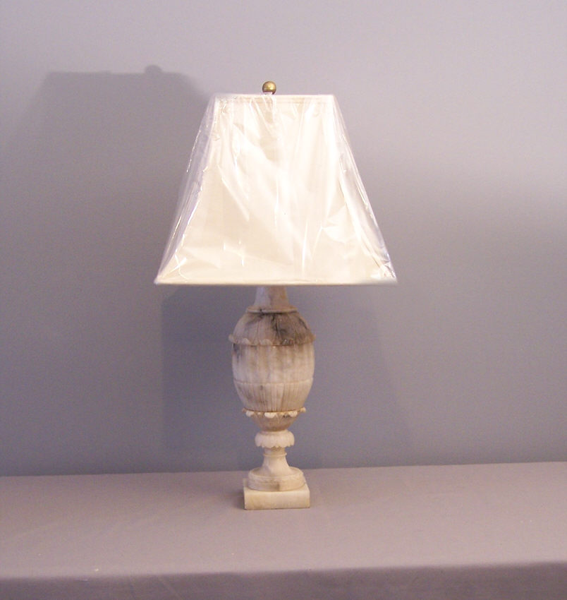 Lamp S: Whitehaven: We're Loving ....Alabaster Lamps