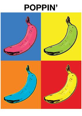 andy warhol pop art banana - photo #5