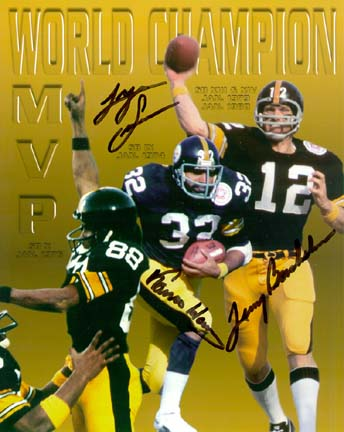 "FRANCO, TERRY AND LYNN  ""#1 STILLERS"""