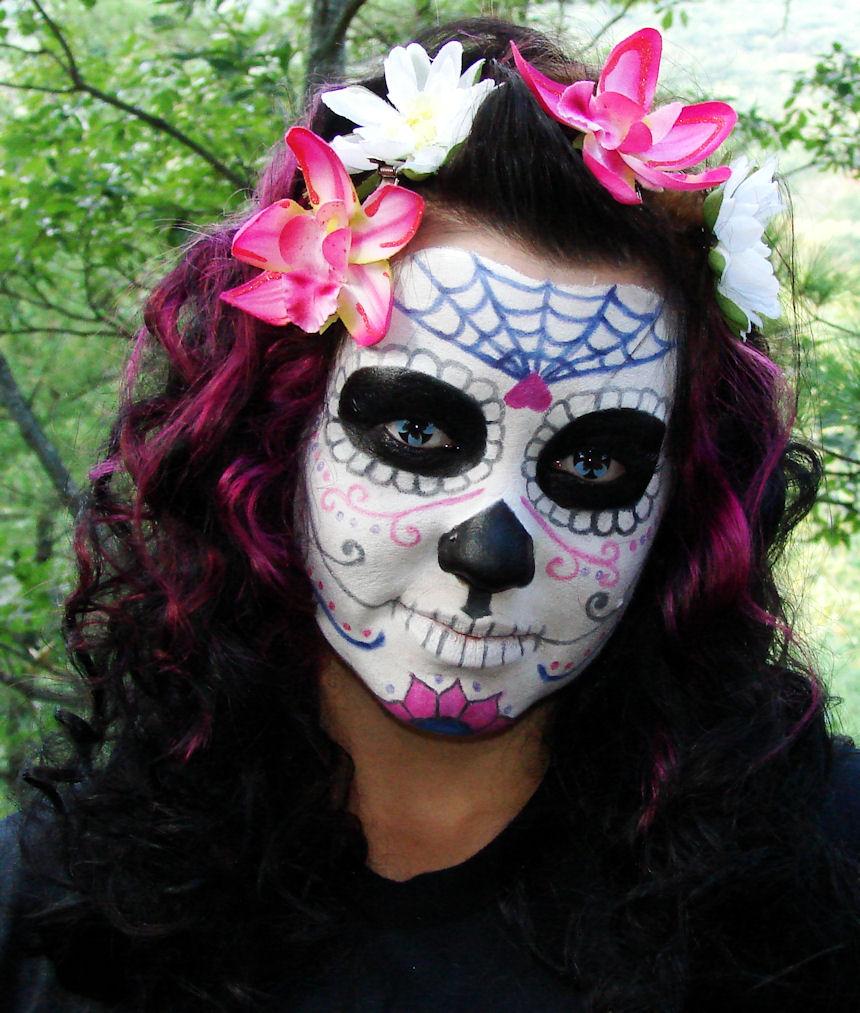 The Kronicles of a Konad-er: Halloween Makeup Tutorial ...