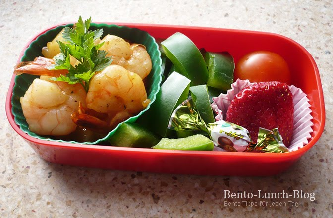 bento lunch blog bento 51 ananas tofu puffs mit shrimps s sauer. Black Bedroom Furniture Sets. Home Design Ideas