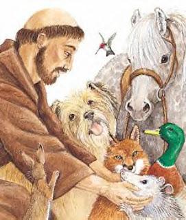 Sao Francisco de Assis e os Animais