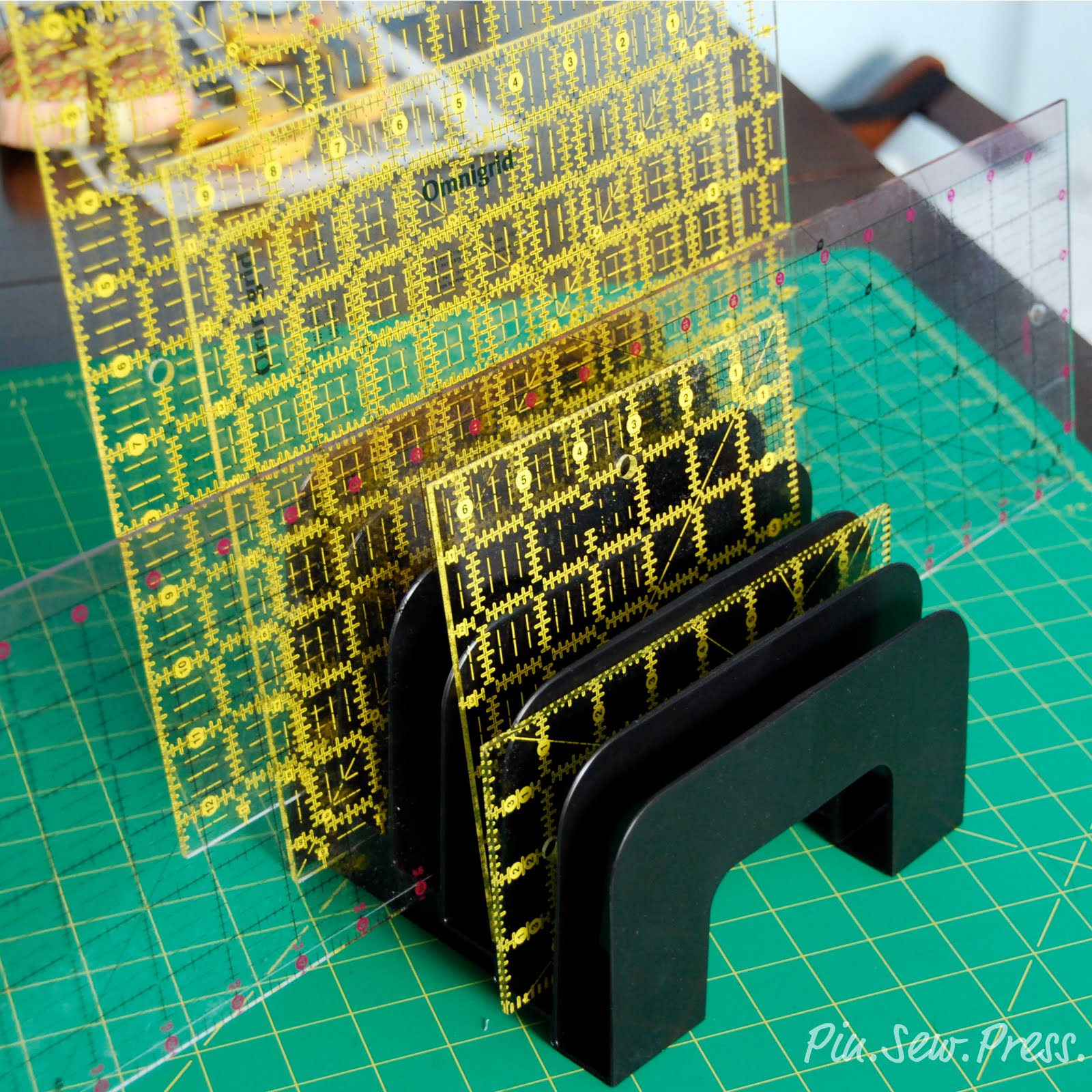 Pin. Sew. Press.: Organize Your Rulers