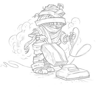 Robert Squier Illustrations: Illustration Friday: Dusty