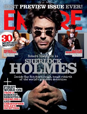 Sherlock Holmes Empire Magazine Cover
